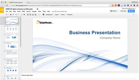 How To Edit Powerpoint Templates In Google Slides Slidemodel Powerpoint Edit Template