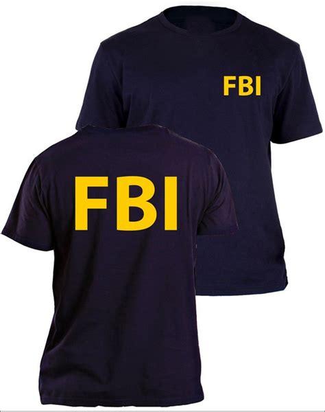 Tshirt Fbi Academy Dealdo Merch fbi t shirt secret service cia staff front and back print summer top shirt