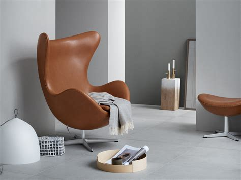 Fritz Hansen Lounge Chair by Buy The Fritz Hansen Egg Lounge Chair Leather At Nest Co Uk