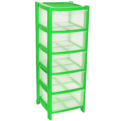 5 Drawer Plastic Storage Tower by 5 Drawer Plastic Large Tower Office Storage Drawers Unit