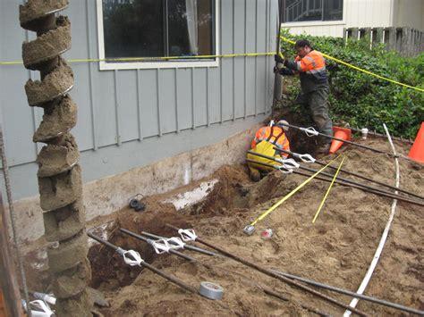 foundation underpinning oregon coast h g schlicker
