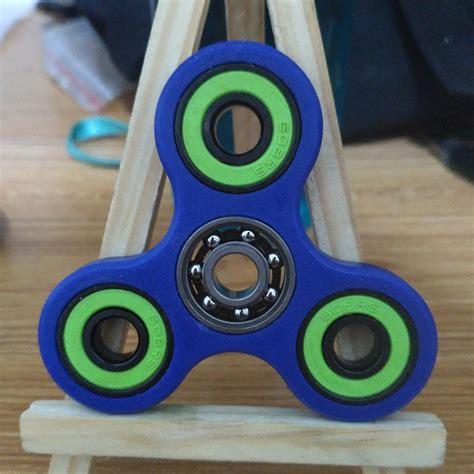 Fidget Spinner 12 12 color spinner tri spinner fidget spinner bearing edc toys ca