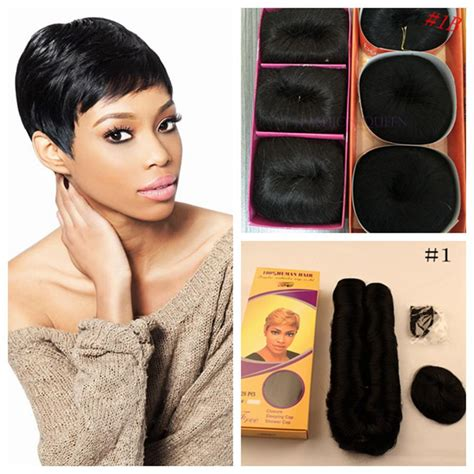 short bump weave hairstyles 27 pieces 4inches short hair weave human in hair short