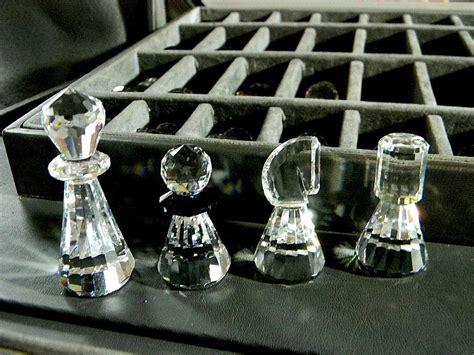 Gamis Swaroski Set Pasmina swarovski complete chess set of from carolines on ruby