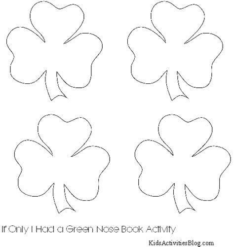 printable shamrocks my blog