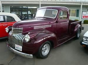 1947 chevrolet 1 2 ton custom up