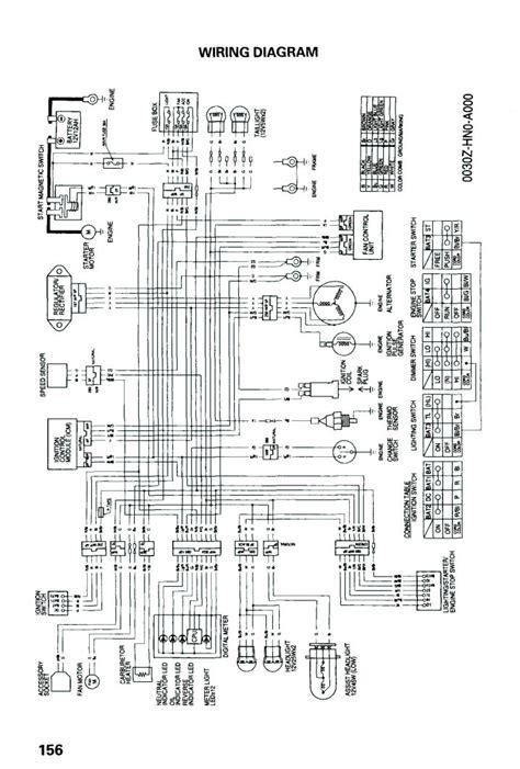 2001 honda rancher 350 es wiring diagram 2001 honda 400ex