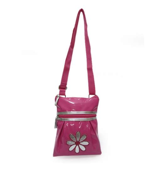 Sling Bag Flower scarleti bright pink flower sling bag for buy