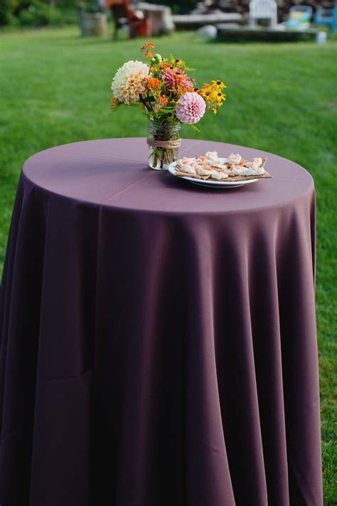 eggplant colored table linens 17 best images about linen on runners