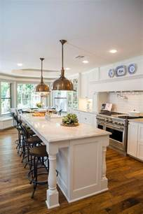 kitchens islands with seating best 25 galley kitchen island ideas on