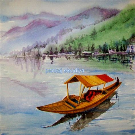 the happy valley sketches of kashmir the kashmiris classic reprint books buy painting shikara artwork no 5453 by indian artist