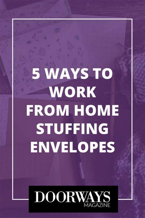 5 ways to work from home envelopes doorways