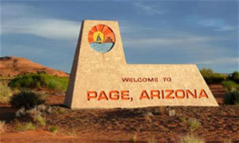Small American Towns by Home City Of Page