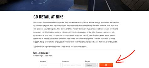 Nike Factory Outlet Application Apply