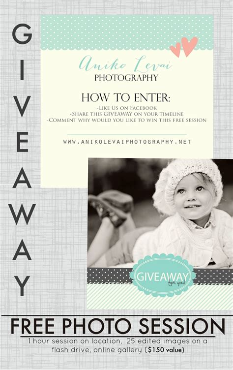 Photography Giveaway - aniko levai photographyfree photo session giveaway richmond va photographer