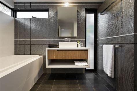 Ravishing Perth Residence Sports Sleek Design And A Modern Floating Bathroom Vanities
