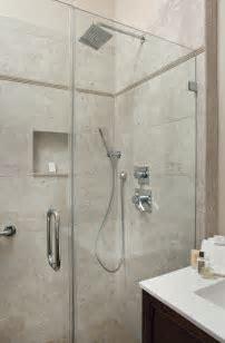 Shower White Porcelain Tile   Home Design Ideas : Perfect