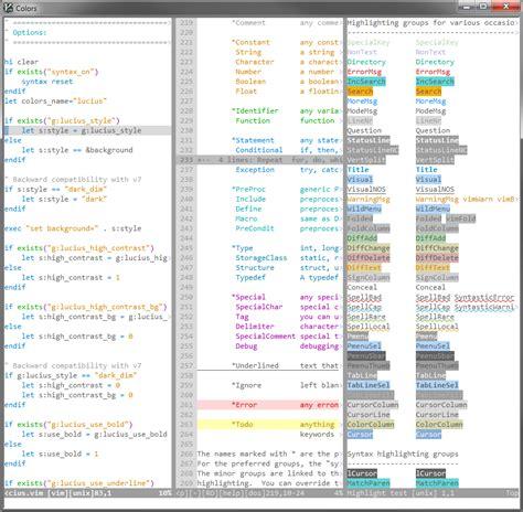 vim colors color schemes for vim driverlayer search engine