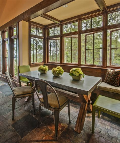 lake house dining room ideas lake michigan home rustic dining room milwaukee by