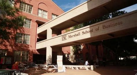Mba Programs In Southern California by Master Of Science In Marketing Usc Marshall