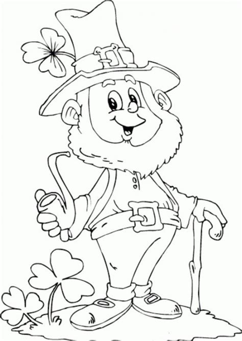 printable leprechaun images angry leprechaun coloring pages coloring pages