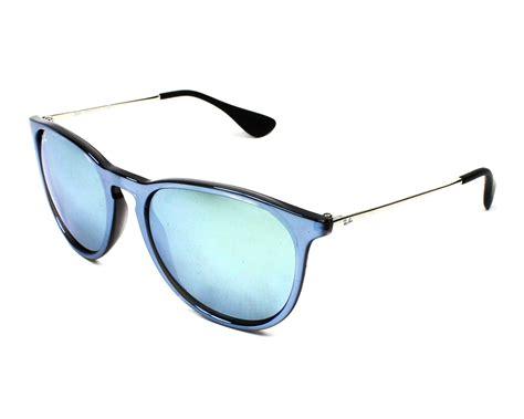 Kacamata Rayban Erika Bludru 4171 lunettes de soleil ban rb 4171 631930 bleu pas cher