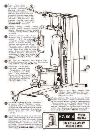 notice banc de musculation montage banc de musculation hg60 notices et pdf gratuits