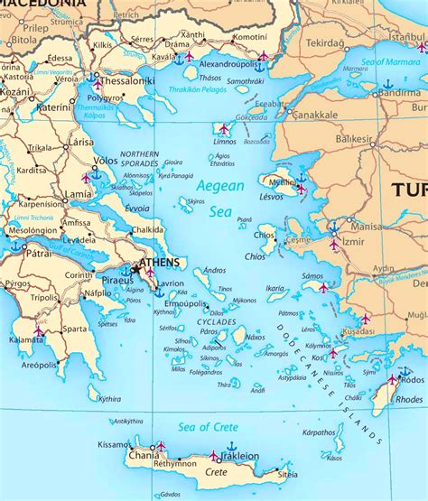 map of the sea map of aegean sea with islands