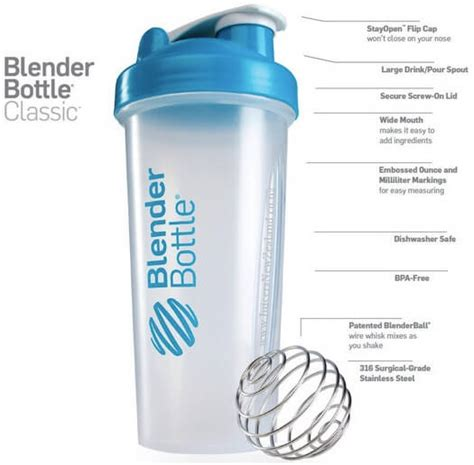 Harga Clear Blue Di Watson jual blender bottle shaker blender