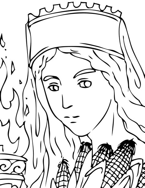 Aphrodite Coloring Page by Aphrodite Easy Coloring Pages