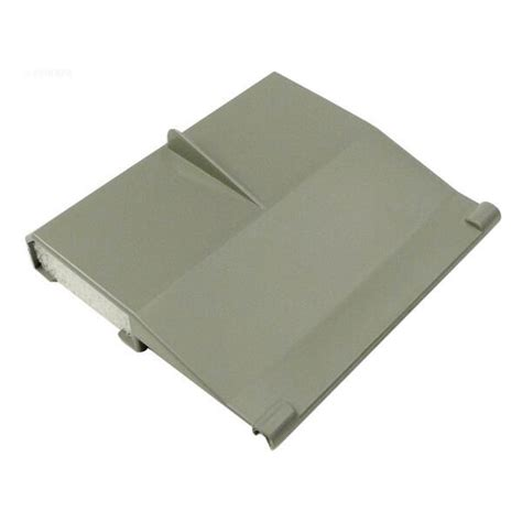 Weir Door waterway 542 3067 front access skimmer weir door assembly gray