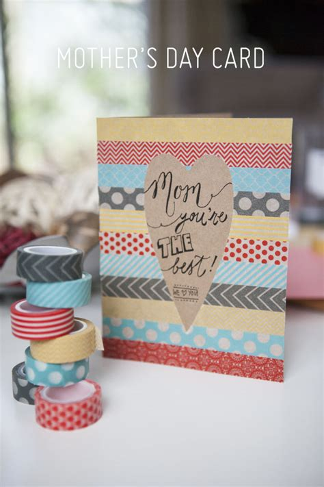 diy mothers day cards 30 cute and creative diy mother s day cards every child