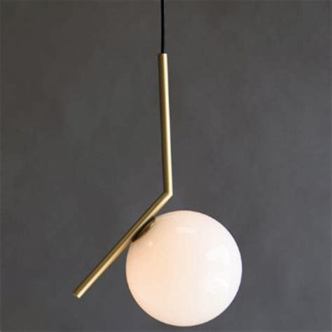 Brass Kitchen F ic lights s pendant by flos at lumens com