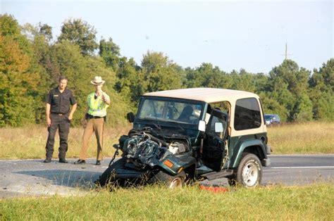 crashed jeep wrangler crash jeep