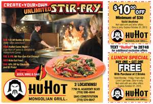 huhot coupons 2017 2018 best cars reviews