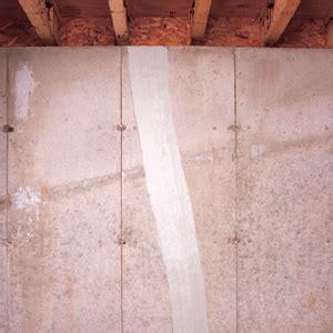 foundation repair repairing wall cracks