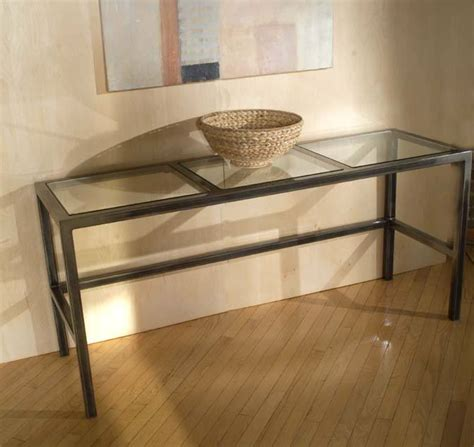 beautiful glass entry table ideas