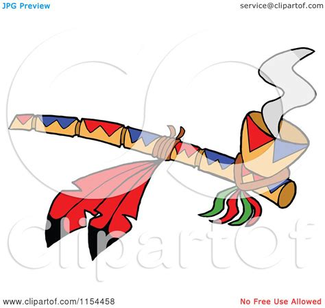 Black And Piven Smoke The Peace Pipe Together by Of A Peace Pipe With Feathers