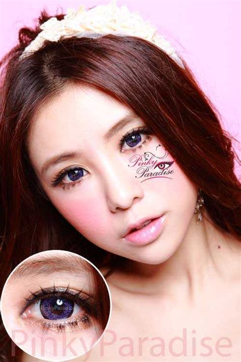 Geo Nudy Violet | geo super size nudy violet circle lenses colored contacts