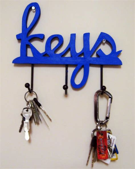 Do Yourself Key Rack by 67 Diy Wooden Key Holder For Wall Ideas You Can Do