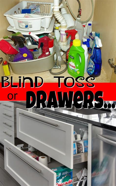 the ideal kitchen under sink drawers live simply by annie best way to organize under kitchen sink drawers
