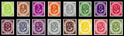 Schweiz Briefmarken G Ltigkeit briefmarken jahrgang 1951 der deutschen bundespost