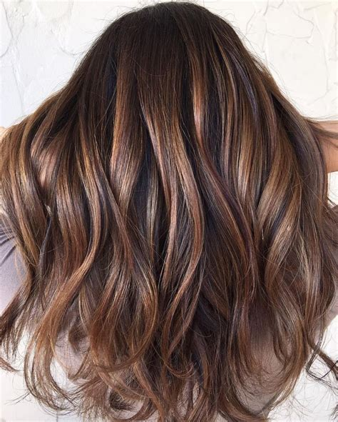 highlight colors for brown hair trendy hair highlights brown hair with balayage