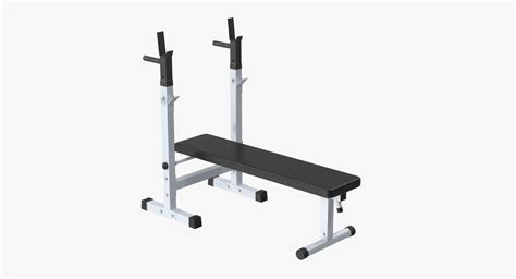 image 3 4 weight bench 3d model weight bench