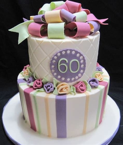 60th Birthday Cake by 106 Best Cakes 60th Birthday Images On