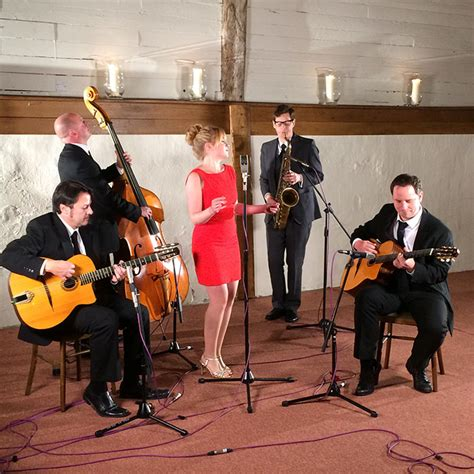 swing wedding band booking agent for the hepbir band gypsy swing trio