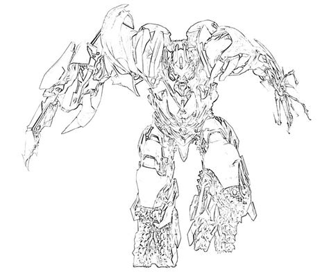 transformers megatron coloring page transformers fall of cybertron megatron transformers mario