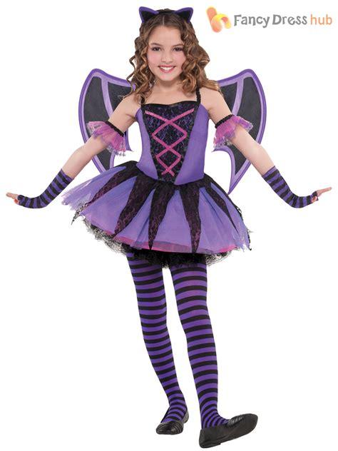 ebay halloween costumes age 3 10 girls ballerina bat costume halloween fancy dress