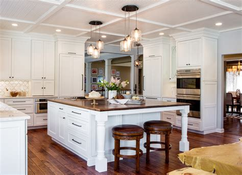 Wood Countertops St Louis by White Kitchen Distressed Wood Counter Top St Louis Mo
