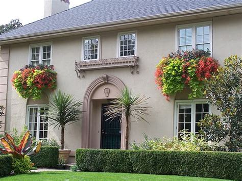 houses with window boxes beautiful fall gardens blissfully domestic